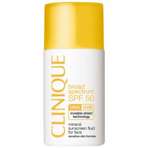 Broad Spectrum SPF 50 Mineral Sunscreen for Face