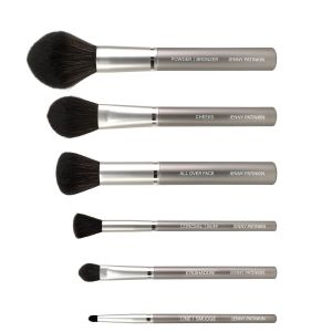 Luxury Vegan 6-Brush Set in Velvet Case