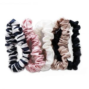 Pure Silk 5-Pack Midi Hair Ties