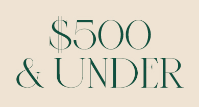 $500 and under